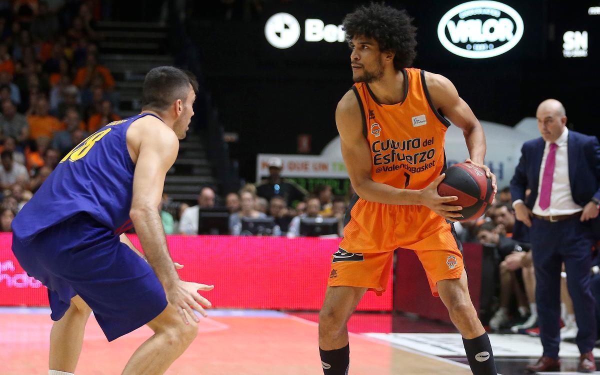 Valencia Basket - Barça Lassa: Triunfo sólido y liderato  (85-86)