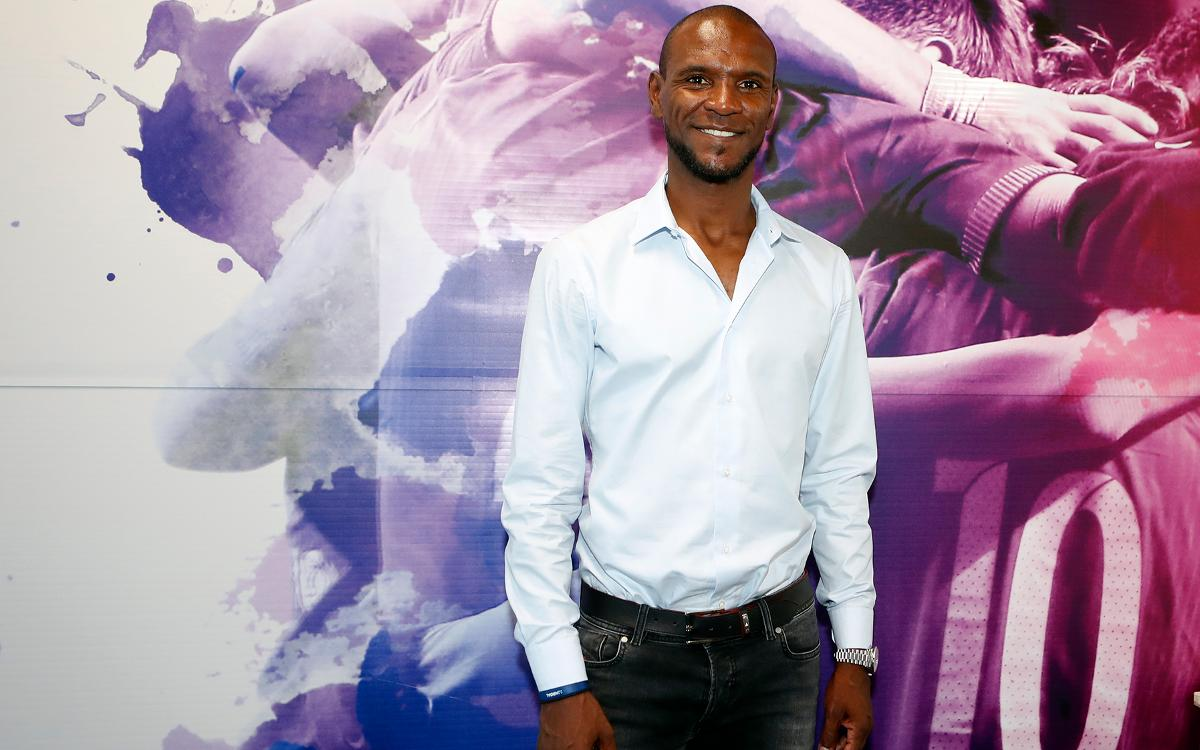 Éric Abidal: 'Those who come here know that they have to compete with the best'
