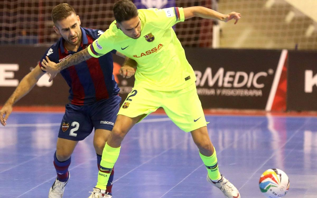 Levante UD – Barça Lassa: Comeback and leaders (2-3)