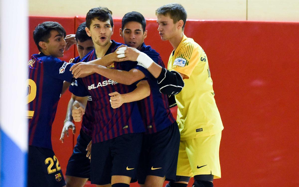 Barça Lassa B - Noia Portus Apostoli (6-3): Remontada y triunfo
