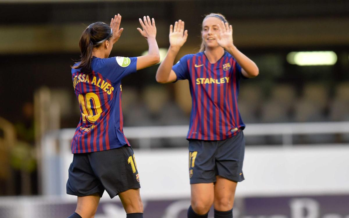 FC Barcelona Femenino - Glasgow City FC (previa): Máxima atención