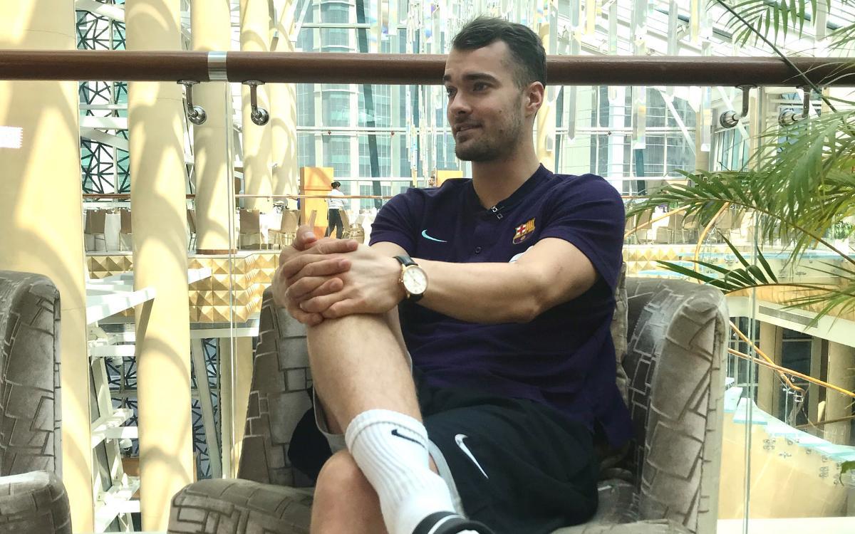 Entrevista a Casper Mortensen en Doha