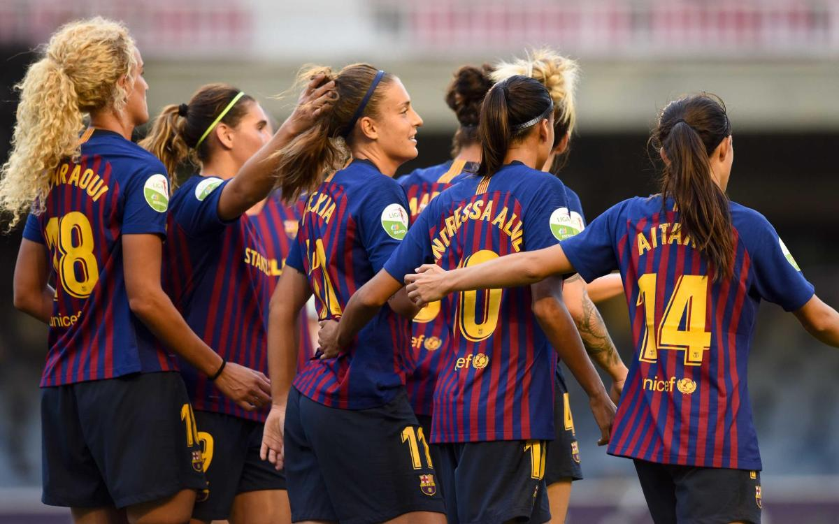 Barça Women – Rayo Vallecano: Goal-fest at the Miniestadi (9-1)