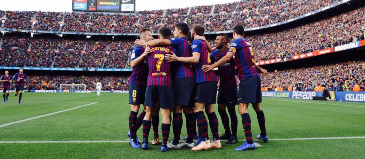 FC Barcelona - Reial Madrid (5-1)