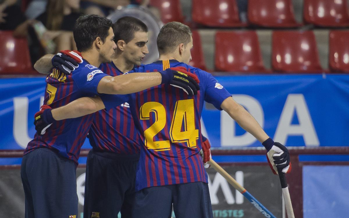 CP Calafell – Barça Lassa: A great away win (1-6)