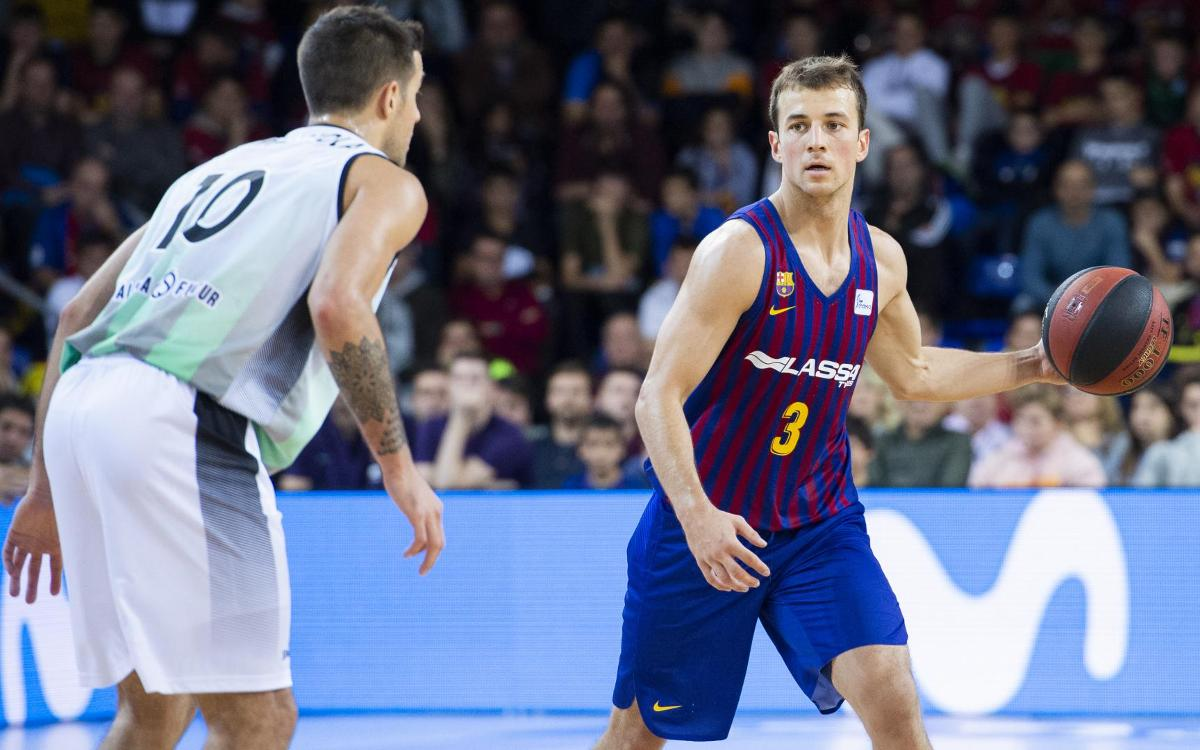 Barça Lassa - Divina Seguros Joventut: Victory in a derby that doesn't disappoint (94-92)