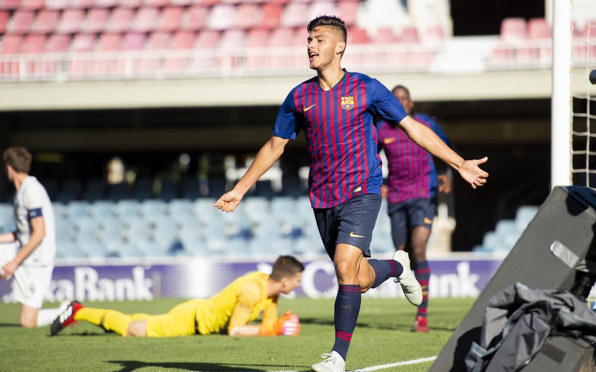 FC Barcelona U19A v Inter: Clear at the top (2-1)