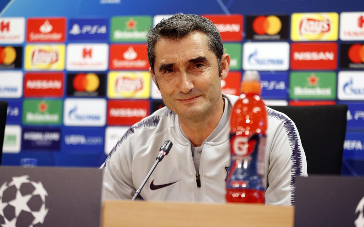 """Ernesto Valverde: """"L'Inter arriba en un dels millors moments de la temporada"""""""