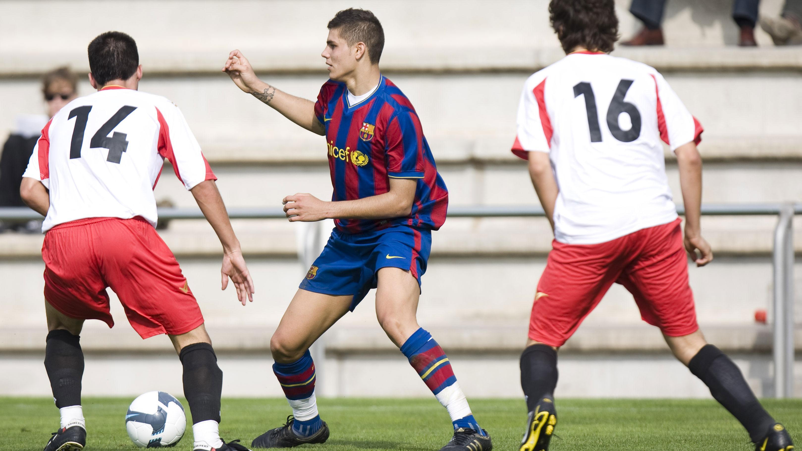 Mauro Icardi's goals for Barça