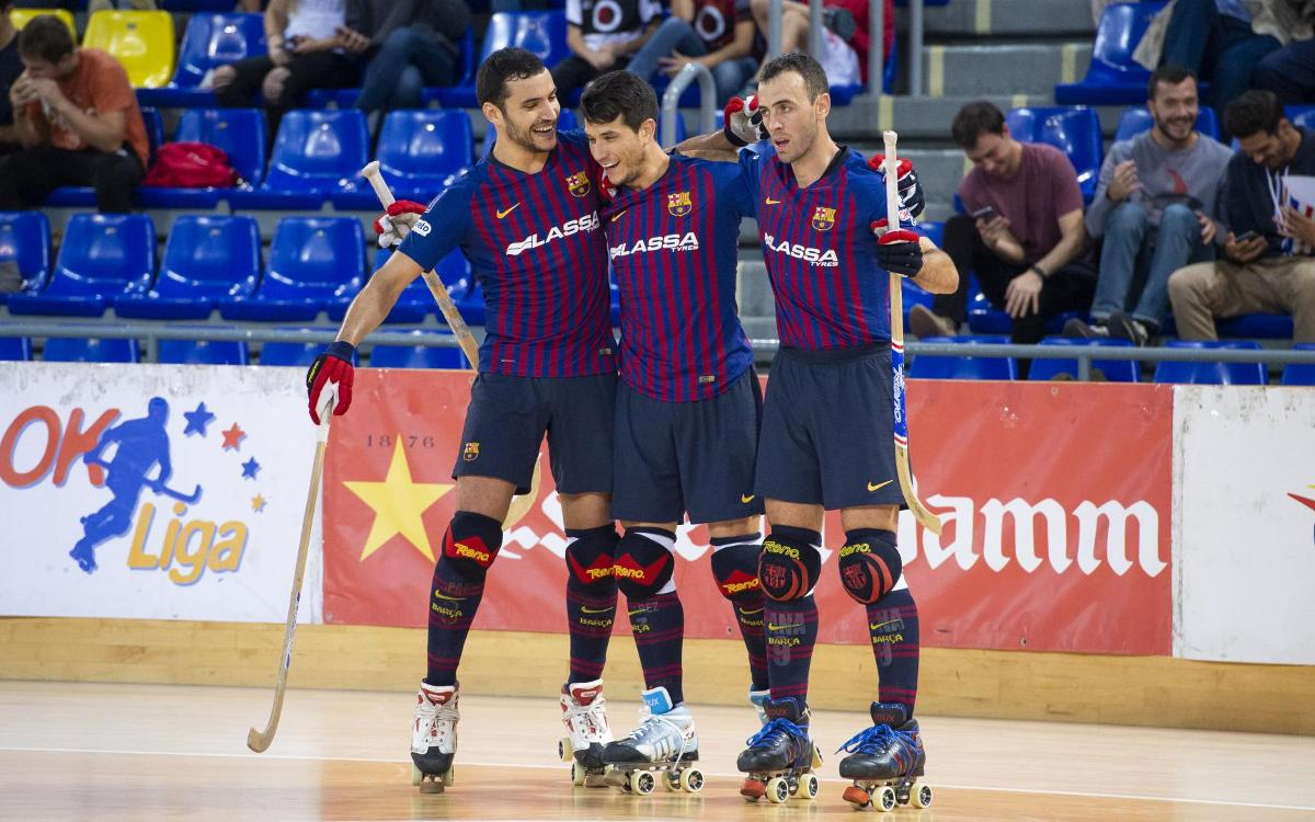 Barça Lassa 9-3 PHC Sant Cugat: Victory in first ever meeting