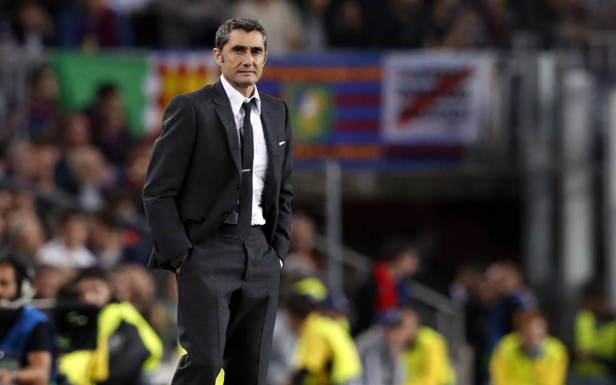 """Ernesto Valverde: """"Hem fet el pas endavant que necessitàvem"""""""