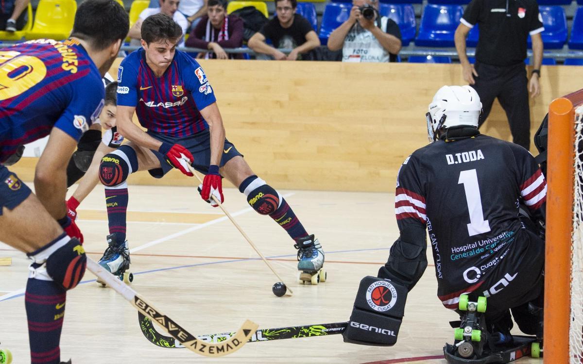 Barça Lassa – Vic: ¡El buen nivel de juego debe continuar en el Palau!