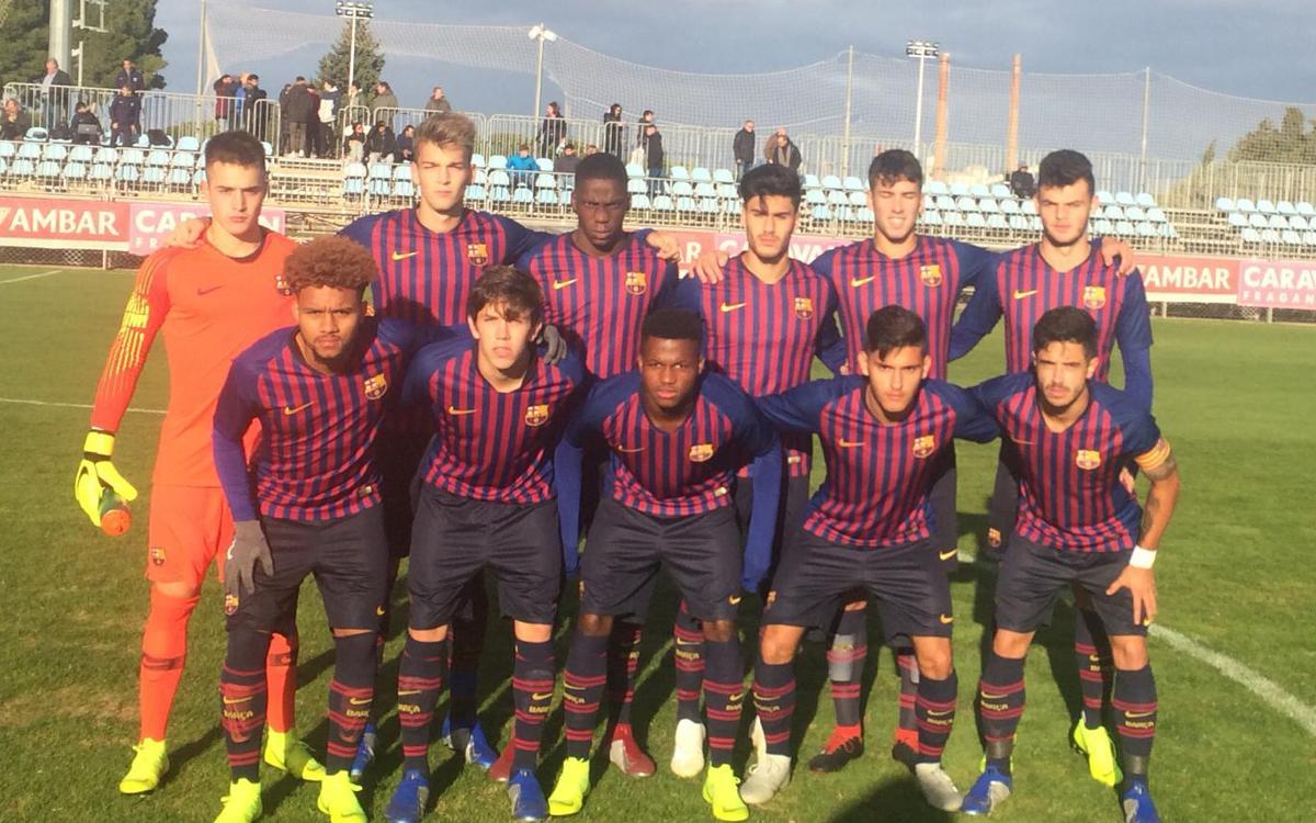 Saragossa – Juvenil A: Segona derrota del curs (2-1)