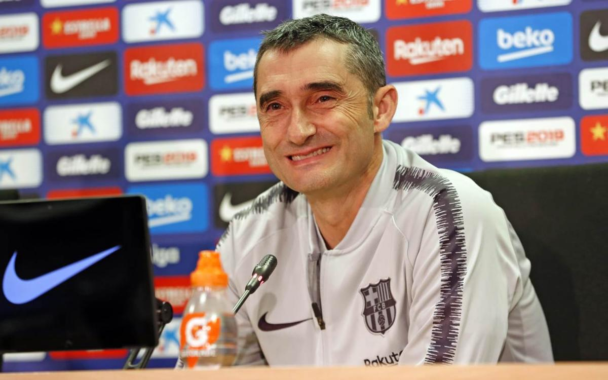 Ernesto Valverde: 'This is not a friendly, we don't want any surprises'