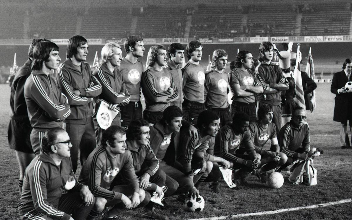 45 anys del I Dia Mundial del Futbol al Camp Nou