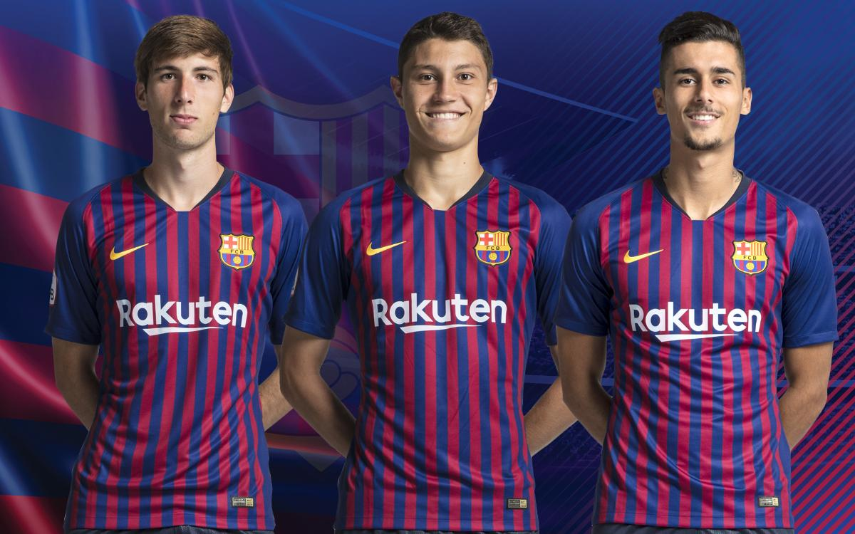 Three from La Masia make first team debuts