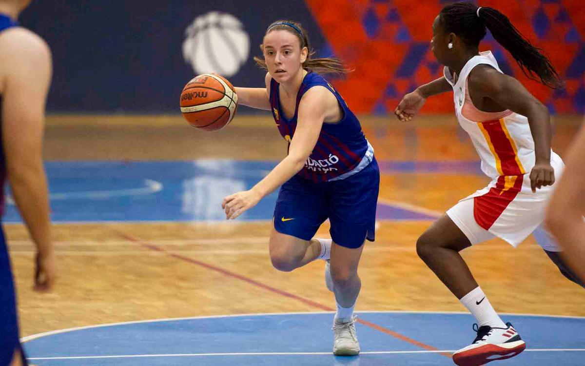El Barça de bàsquet femení guanya el Segle XXI i suma la tercera victòria