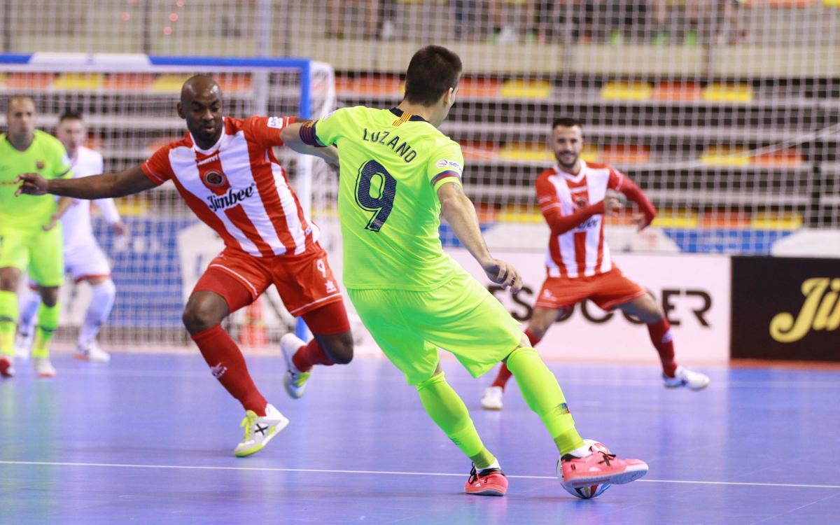Jimbee Cartagena 5-5 Barça Lassa: Stunned by late comeback