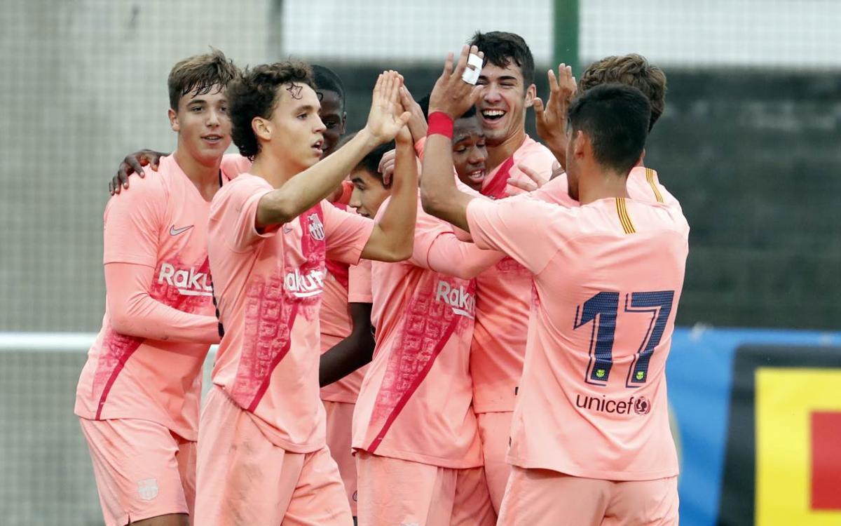 Inter - Juvenil A: Victoria para reforzar el liderato (0-2)