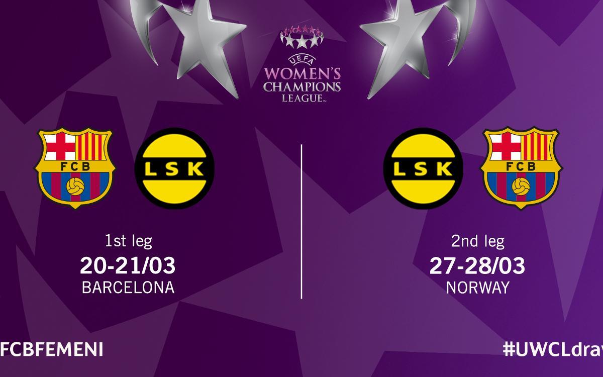 LSK Kvinner, el rival als quarts de la Champions League