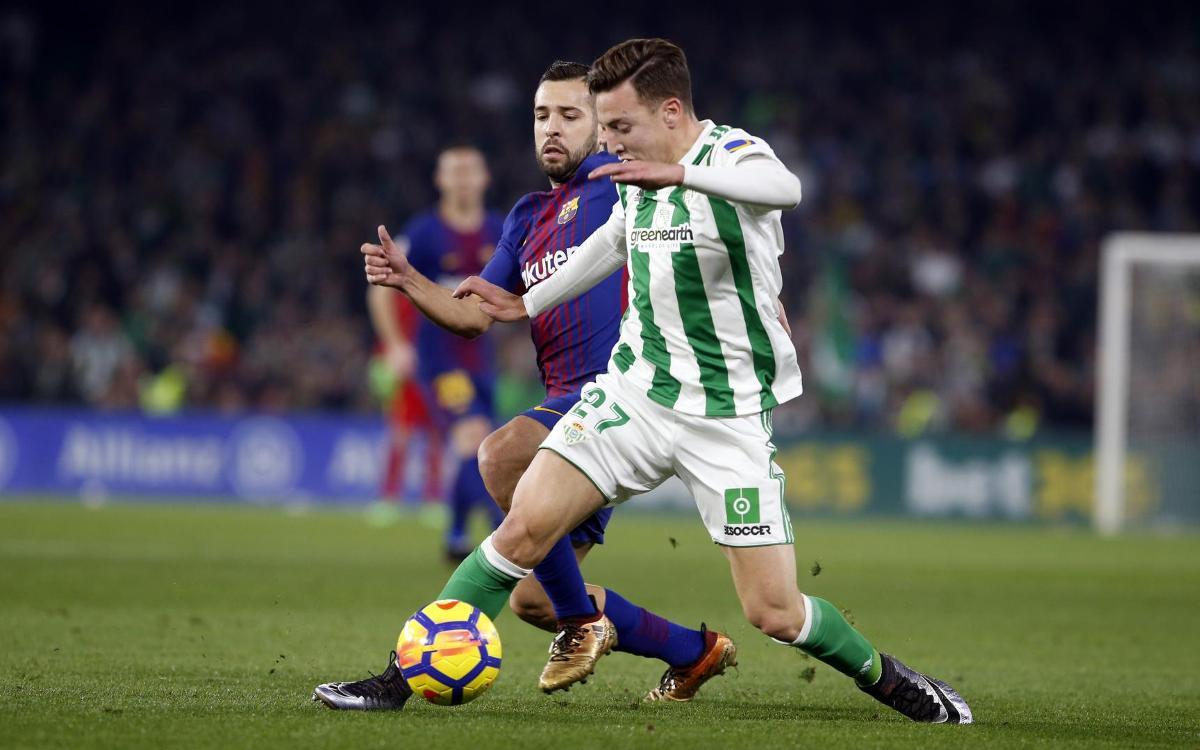 Barça and Betis: Possession kings