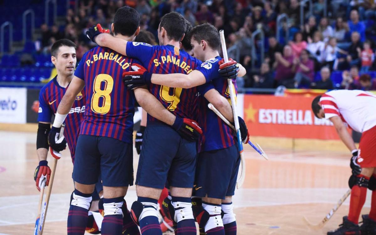Barça Lassa – Club Patí Vic: Continua el ple de victòries! (5-0)