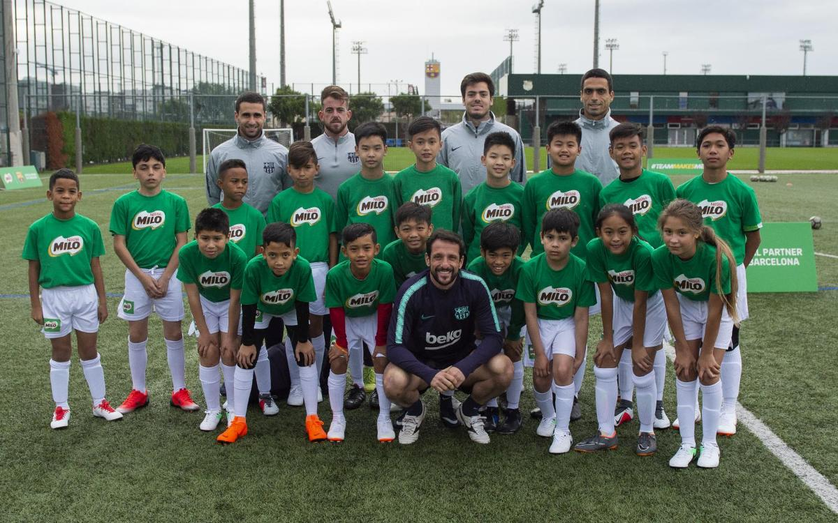 Belletti brings dream moment for youngsters, all thanks to Milo