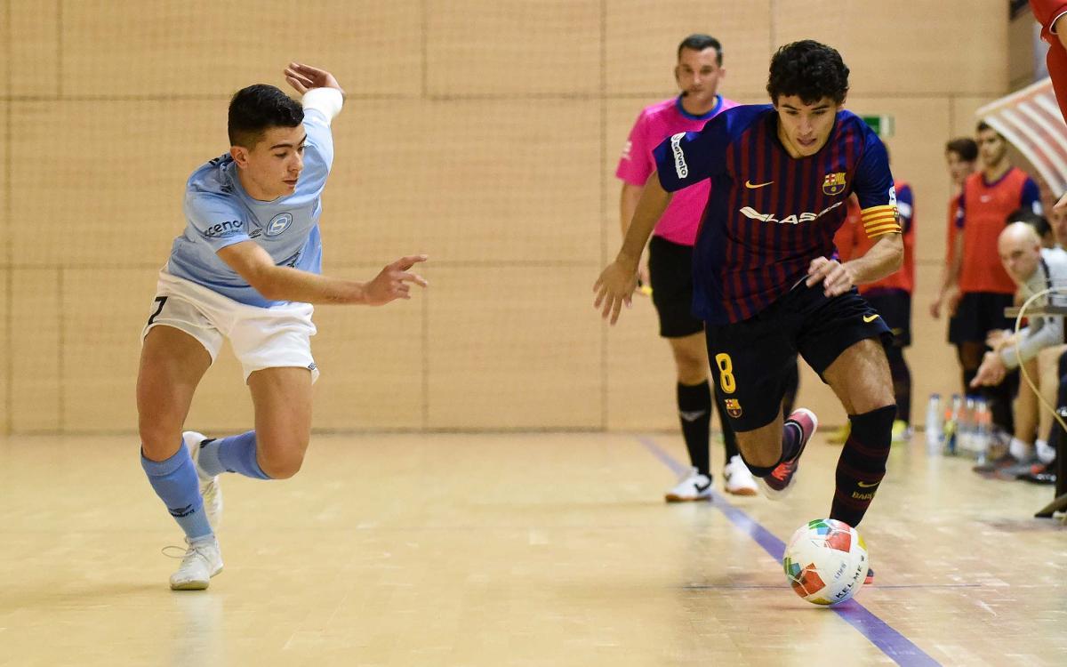 Barça Lassa B – Santiago Futsal (1-1): Empat que sap a poc