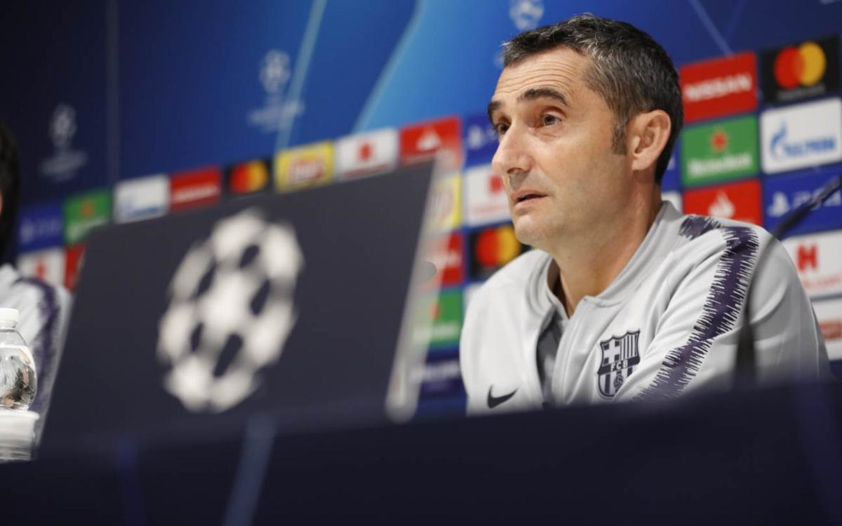 Ernesto Valverde: 'Inter will take a step up at home'