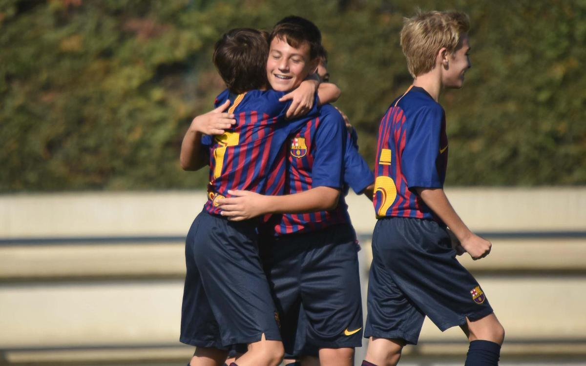 The best goals of the weekend from La Masia!