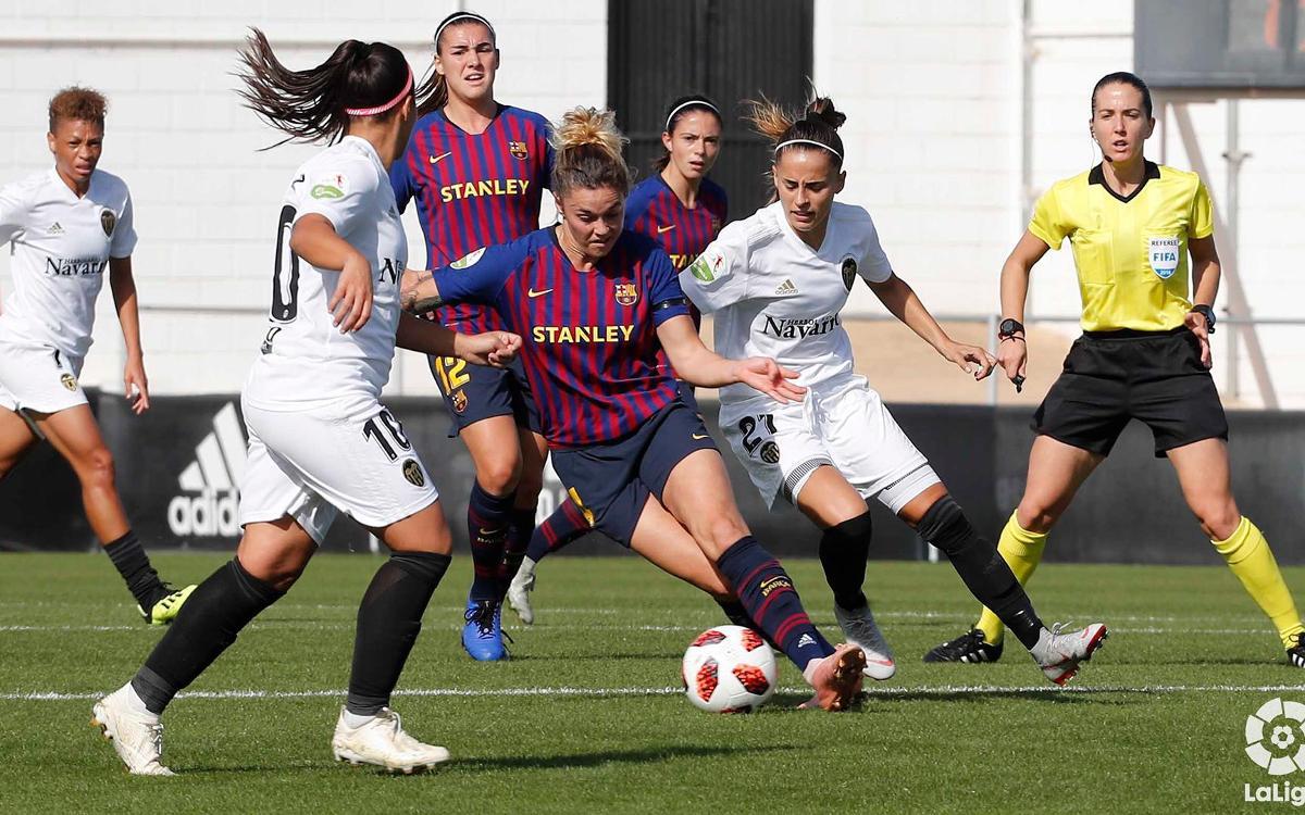 València CF – Barça Women: A hard-fought point (0-0)