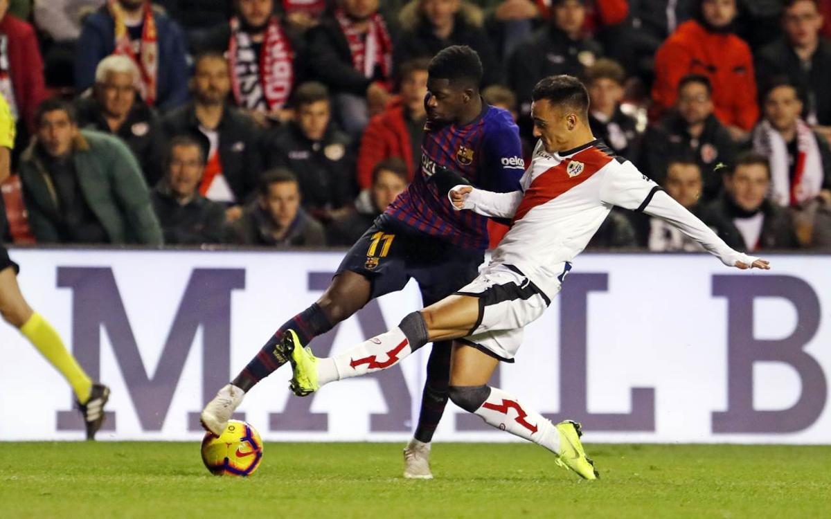 Rayo Vallecano - FC Barcelone (2-3)