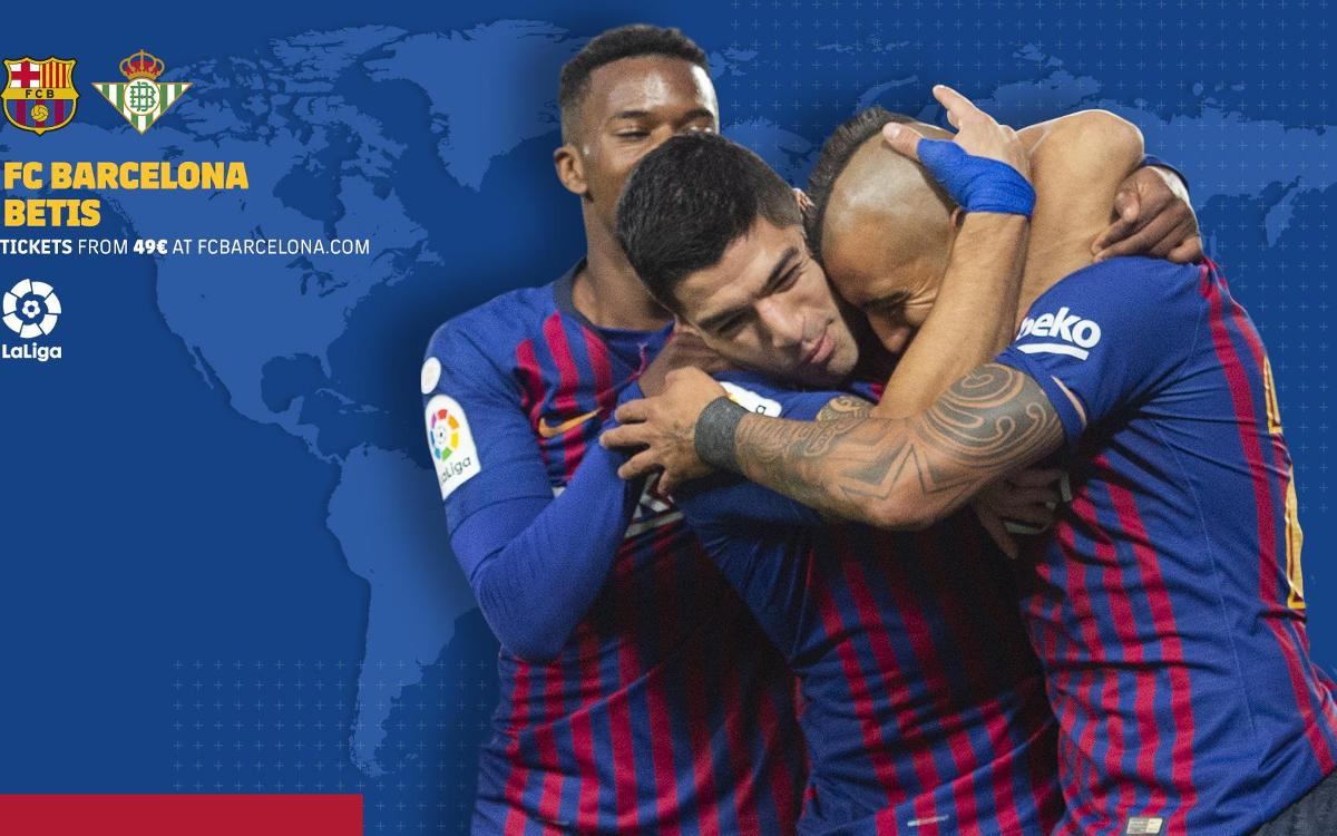 When and where to watch FC Barcelona vs Real Betis
