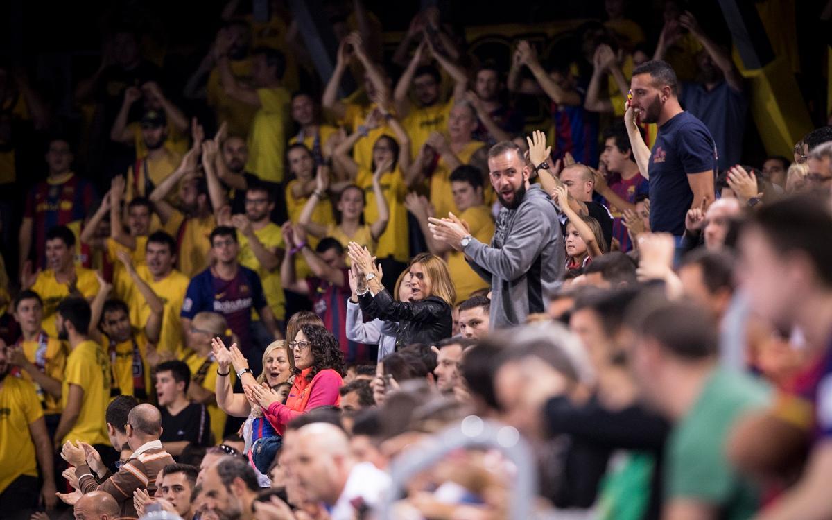 Llamamiento a la afición para el partido contra Palma Futsal