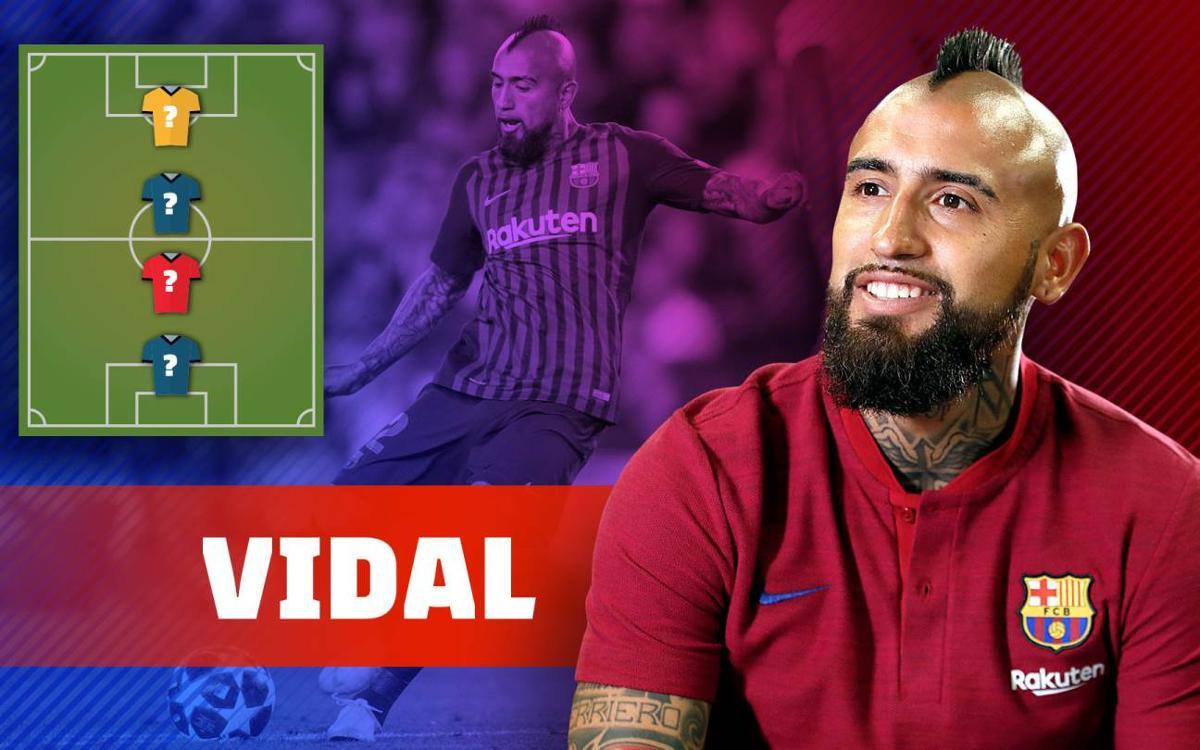 My TOP-4: Arturo Vidal ens descobreix els seus ídols!