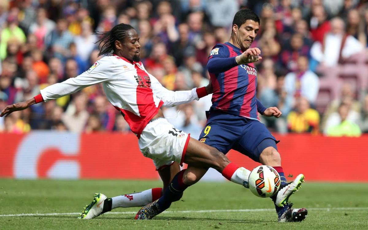 Goals galore against Rayo Vallecano