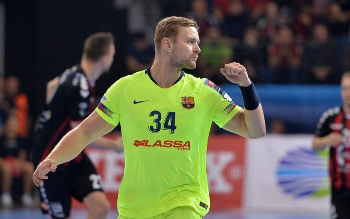 HC Vardar – Barça Lassa: Líders del grup A (26-30)