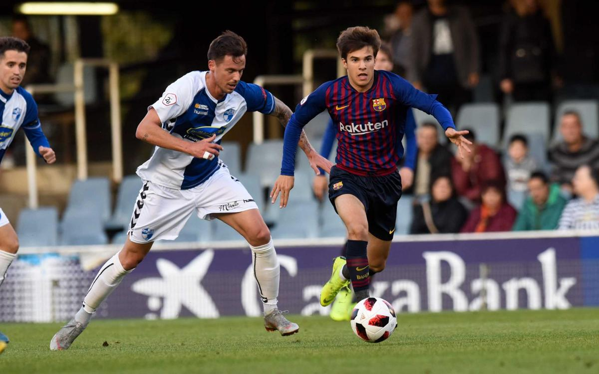 Barça B - CD Ebro: Empate trabajado en el Miniestadi (1-1)