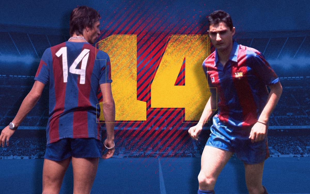 El secret del dorsal '14' de Cruyff... i Valverde
