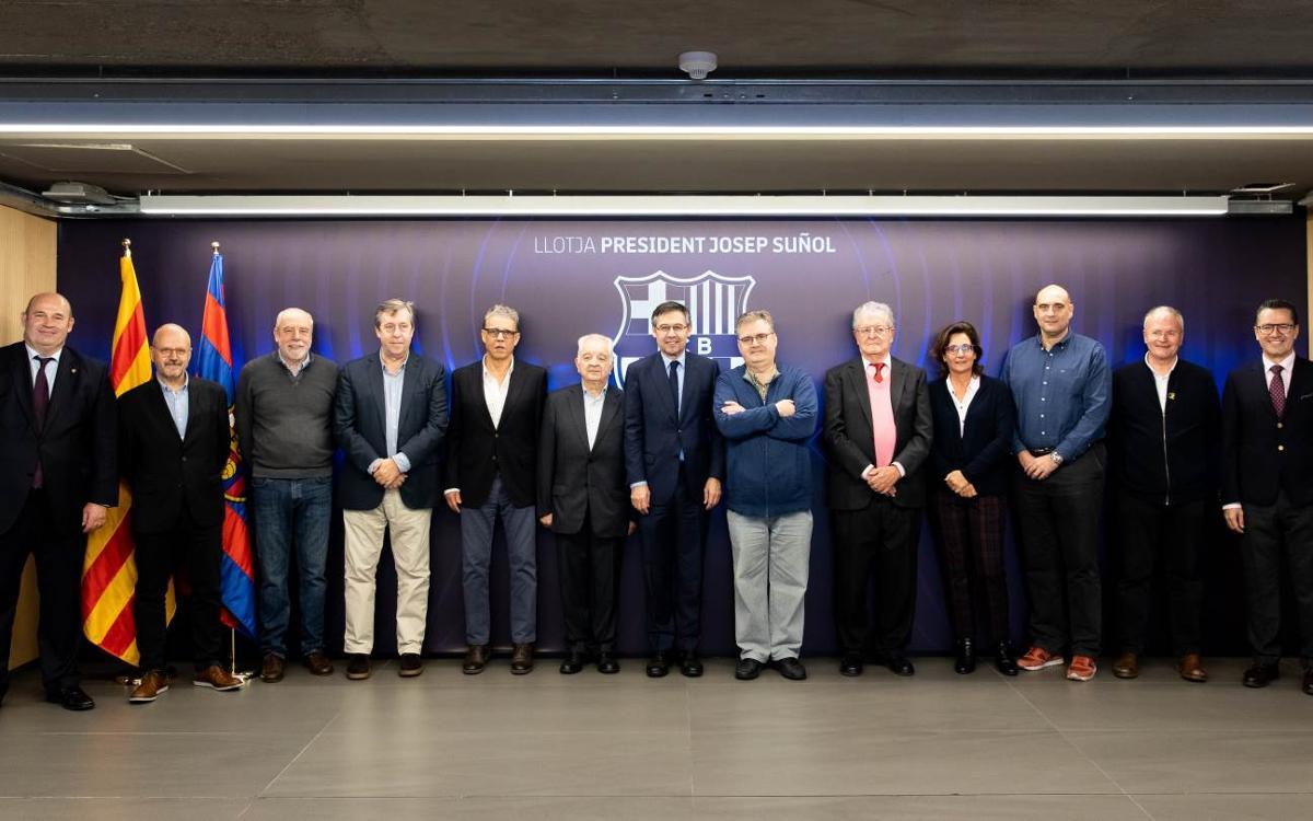 El jurat del Premi Vázquez Montalbán de periodisme esportiu es reuneix per escollir el guanyador de la 13a edició