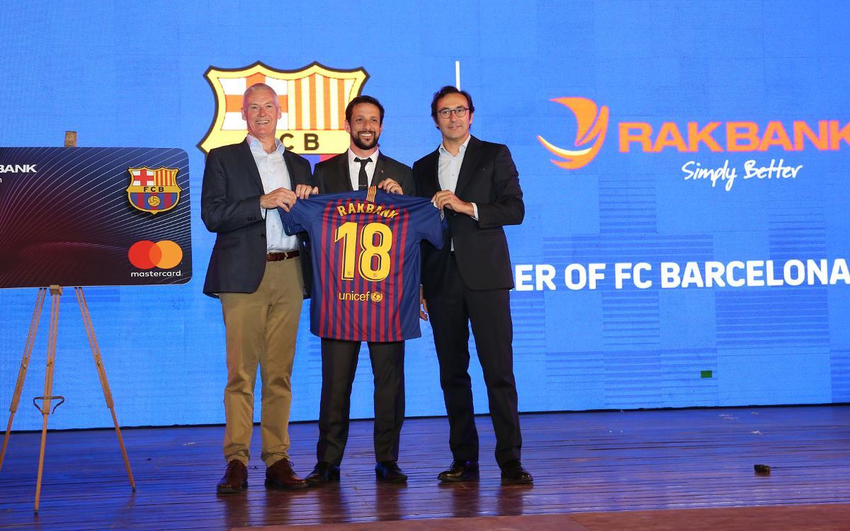 El Barça, Rakbank i Mastercard s'uneixen per llançar una nova targeta de crèdit als Emirats Àrabs Units