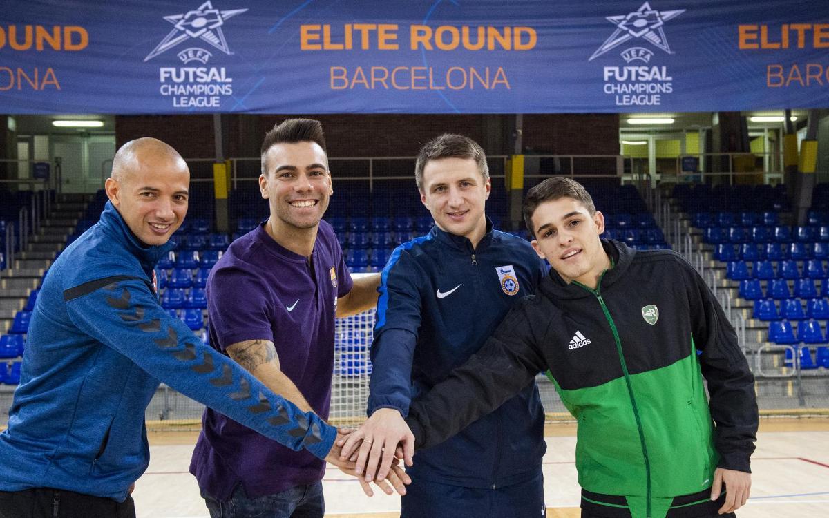 Todo a punto para la Elite Round