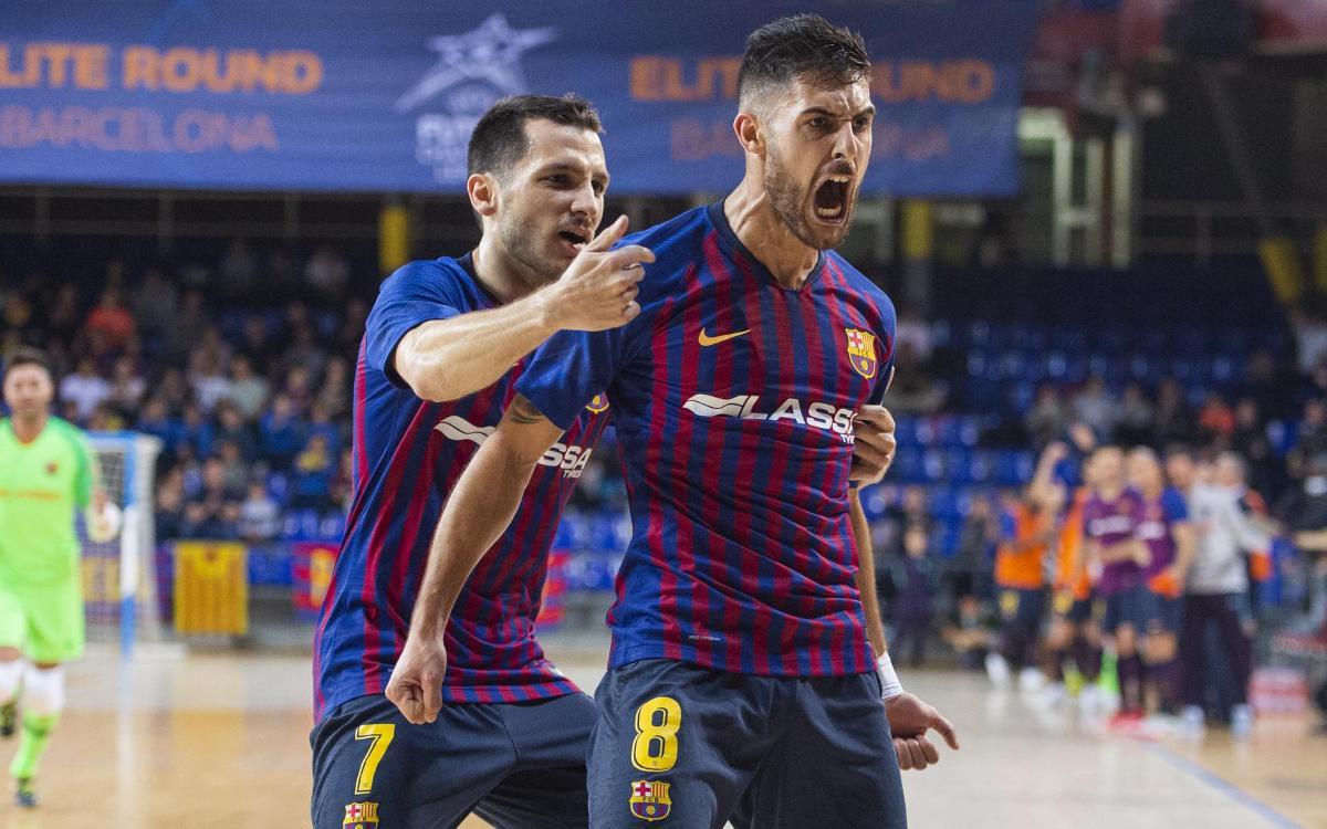 Barça Lassa – KMF Ekonomac: Primer test superat amb nota (6-1)