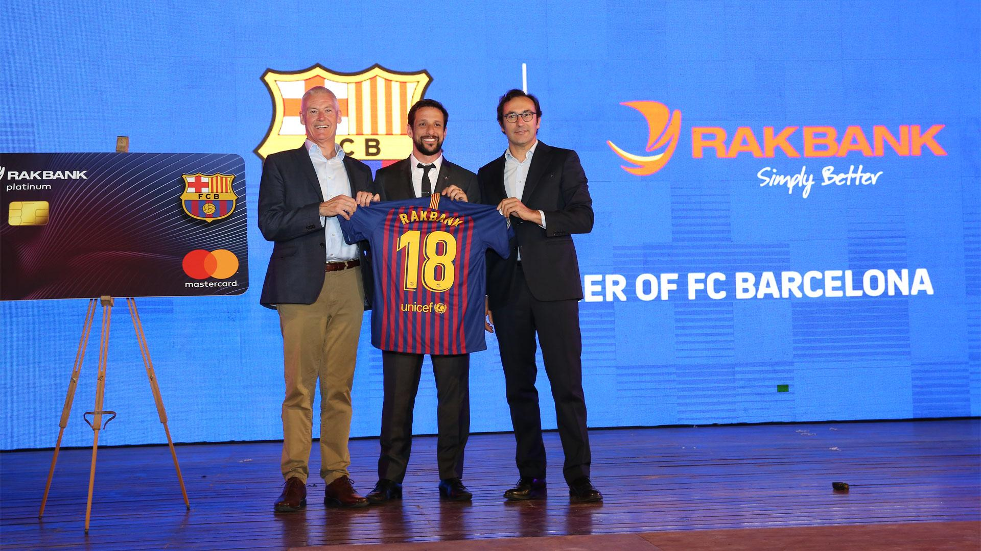 Fc Barcelona Rakbank And Mastercard Join Hands To Launch A New Affinity Credit Card In The United Arab Emirates