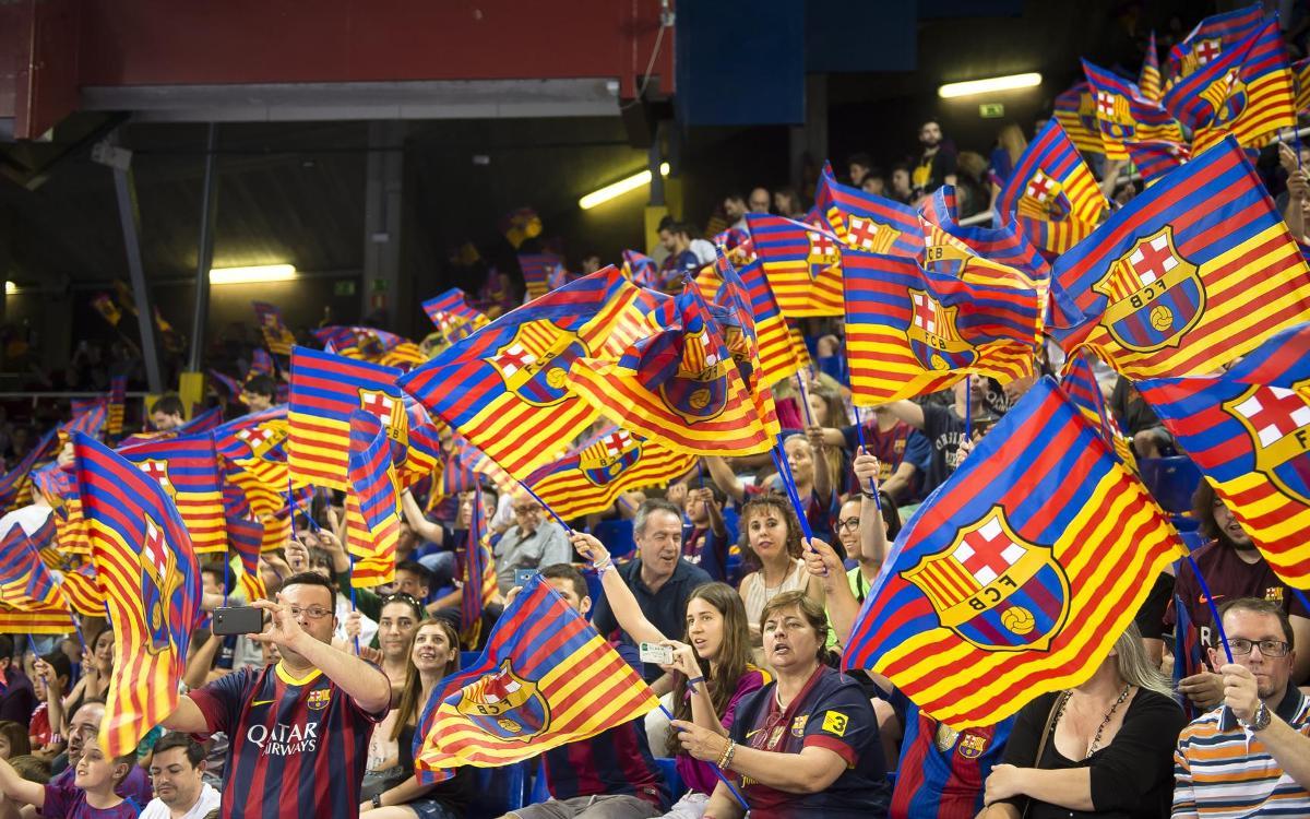 Un Palau Blaugrana de Champions