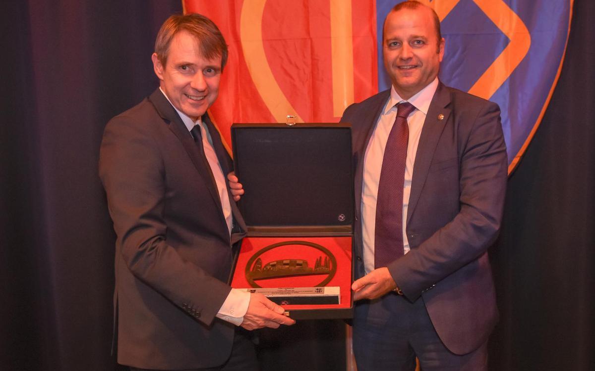 Presents al 125è aniversari del FC Basilea