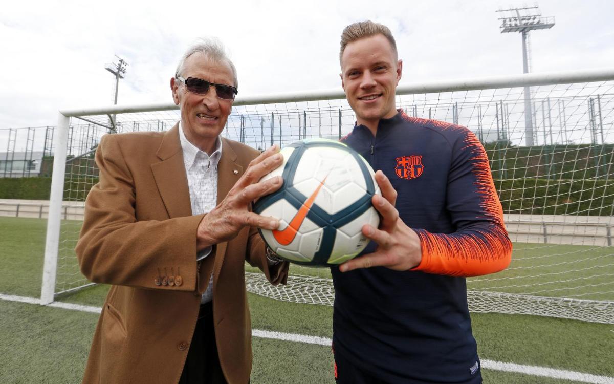 Vidéo - Rencontre Sadurni - Ter Stegen, gardiens historiques du FC Barcelone