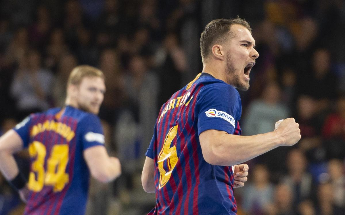 Barça Lassa – HC Vardar: Golpe de efecto del líder (34-26)