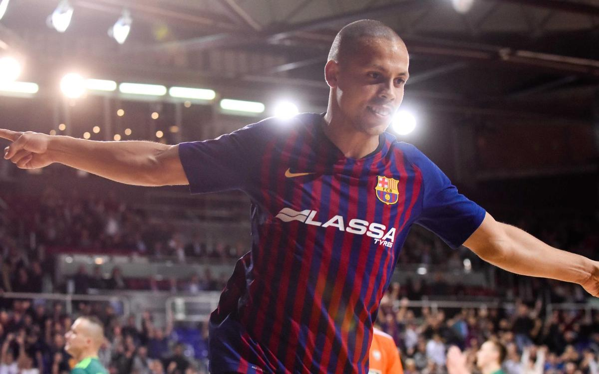 Barça Lassa – Record Bielsko-Biala: ¡A un punto de la Final Four! (3-1)