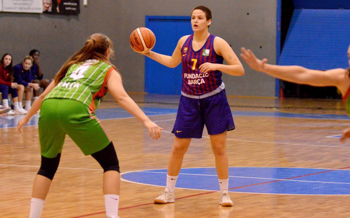 Xènia Artiga, MVP de la jornada 7 de la Lliga Femenina 2